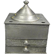 Taunton Pewter Ink Well