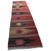 Turkish Anatolian Kilim Runner
