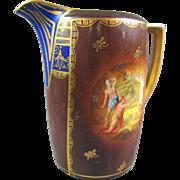 Vienna Style Porcelain Pitcher