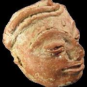 Antique Southeast Asian Pottery Head