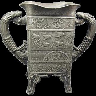 Antique Rockford S.P. Co Vase Arts & Crafts Style