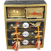 Japanese Doll House Tall Chest