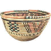 Nigerian Basket from the Hausa Group