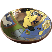 Art Pottery Ceramic Bowl by Judy Miller