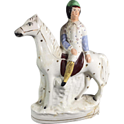 Early Staffordshire Horse Figurine