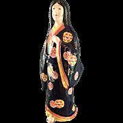Japanese Porcelain Geisha Figurine