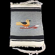 Miniature Navajo Hand Made Wool Rug