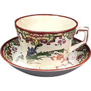 Ridgways Chinoiserie Cup and Saucer
