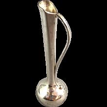Nouveau Style Plated Bud Vase