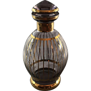 Gilt Decanter/bottle