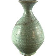 Art Pottery Vase Turquoise Coloration