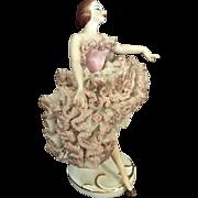 Dresden Style Ballerina