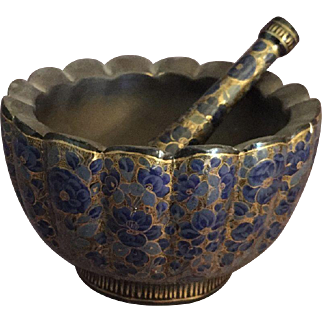 Japanese Lacquer Mortar and Pestle