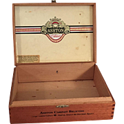 Wood Cigar Box Belicoso
