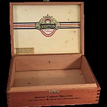 Wood Cigar Box Belicoso