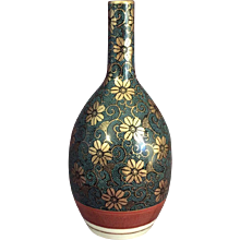 Japanese Enameled Porcelain Vase