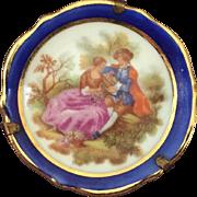 Miniature Limoges Plate