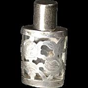 Petite Silver/Overlay Perfume Bottle