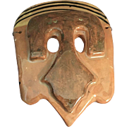 Tribal Type Ceramic Mask