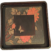 Japanese Lacquered Wood Tray