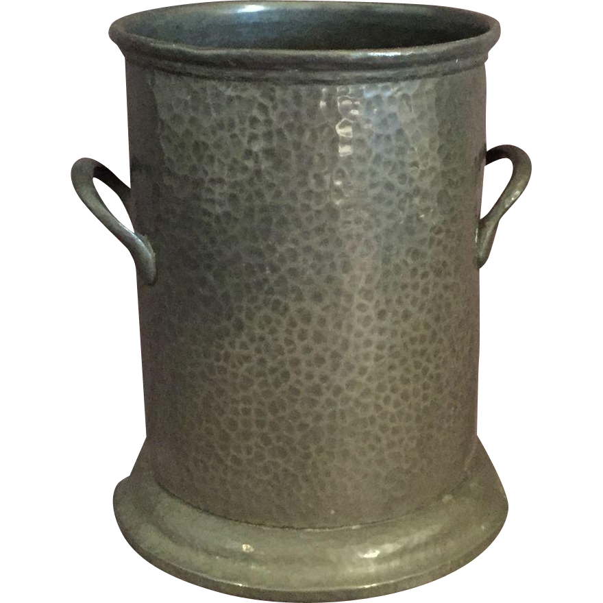 English Pewter Wine Cooler Chiller From