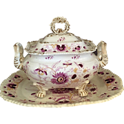 Large 19th Century English Tureen