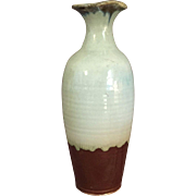 Tall Art Pottery Vase