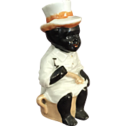 Lusterware Black Boy { Negro} Figure