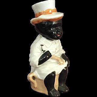 Lusterware Black Boy { Negro} Figure