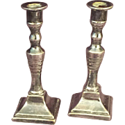 Miniature Plated Candlesticks