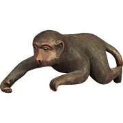 Chinese Yixing Pottery Monkey