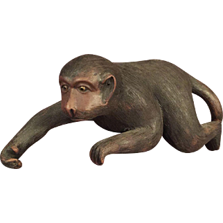 Chinese Yixing Pottery Monkey