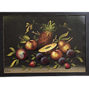 Still Life Painting on Board