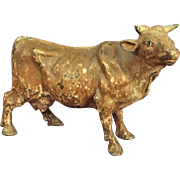 Austrian Cold Painted Bovine/Cow Bronze