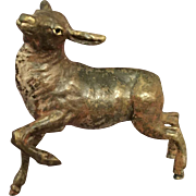Austrian/Viennese Cold Painted Bronze of a Doe
