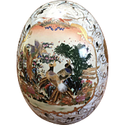Tall Porcelain Egg