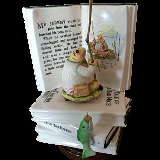 Beatrix Potter Mr. Jeremy Frog Music Box - Schmid