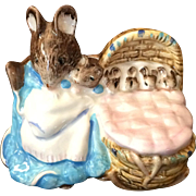 Royal Doulton Beatrix Potter Hunca Munca Figurine
