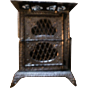 Germany Soft Metal Dollhouse Stove
