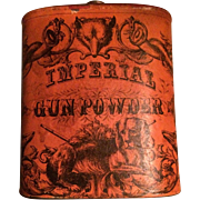Imperial Gunpowder Tin - Advertising - Eureka
