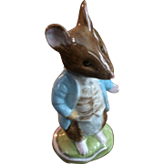 Beswick Beatrix Potter's Johnny Town Mouse Figurine