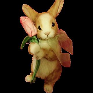 R. John Wright Tulip Bunny Doll - In Original Box