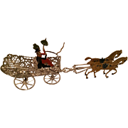 Germany Soft Metal Horse Drawn Carriage - Babette Schweizer