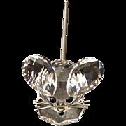 Swarovski Crystal Retired Mouse