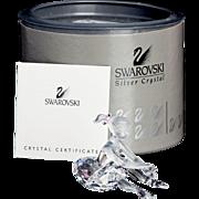 Swarovski Crystal Young Ballerina Figurine - Original Box - Retired