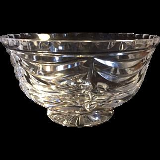 Tiffany & Co Royal Brierley Crystal Bowl