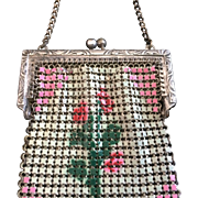 Tiny Art Deco Era Mesh Doll Purse