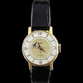 Vintage Buler Rotating Dial Ladies Windup Wrist Watch