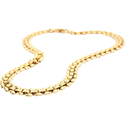 Slinky Vintage Monet Gold-Tone Necklace