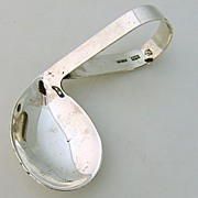 Sterling Silver Invalid Feeding Spoon 1930